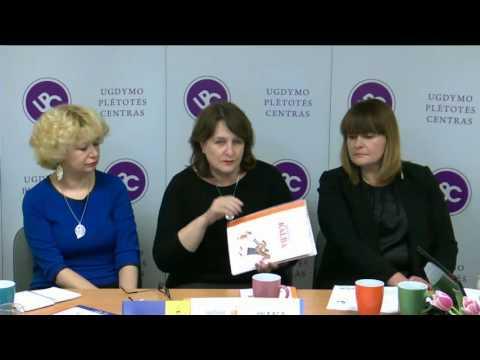 Leidinių, skirtų ikimokyklinio ir priešmokyklinio amžiaus vaikų tėvams, pristatymas