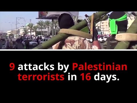 Israel will continue to defend its citizens from Palestinian terrorism