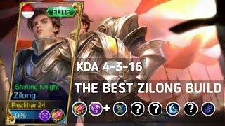 THE BEST ZILONG BUILD - Mobile Legends Indonesia