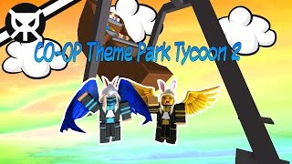 Building with my Girlfriend! ▼ Theme Park Tycoon 2 [CO-OP] ROBLOX ▼ Part 2