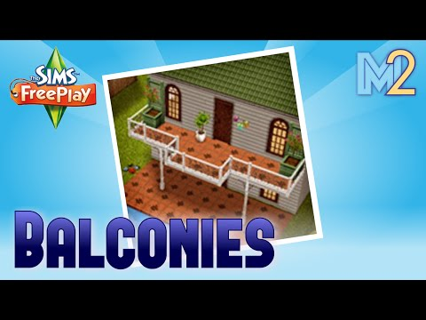 Sims FreePlay - Balcony Quest (Tutorial & Walkthrough)