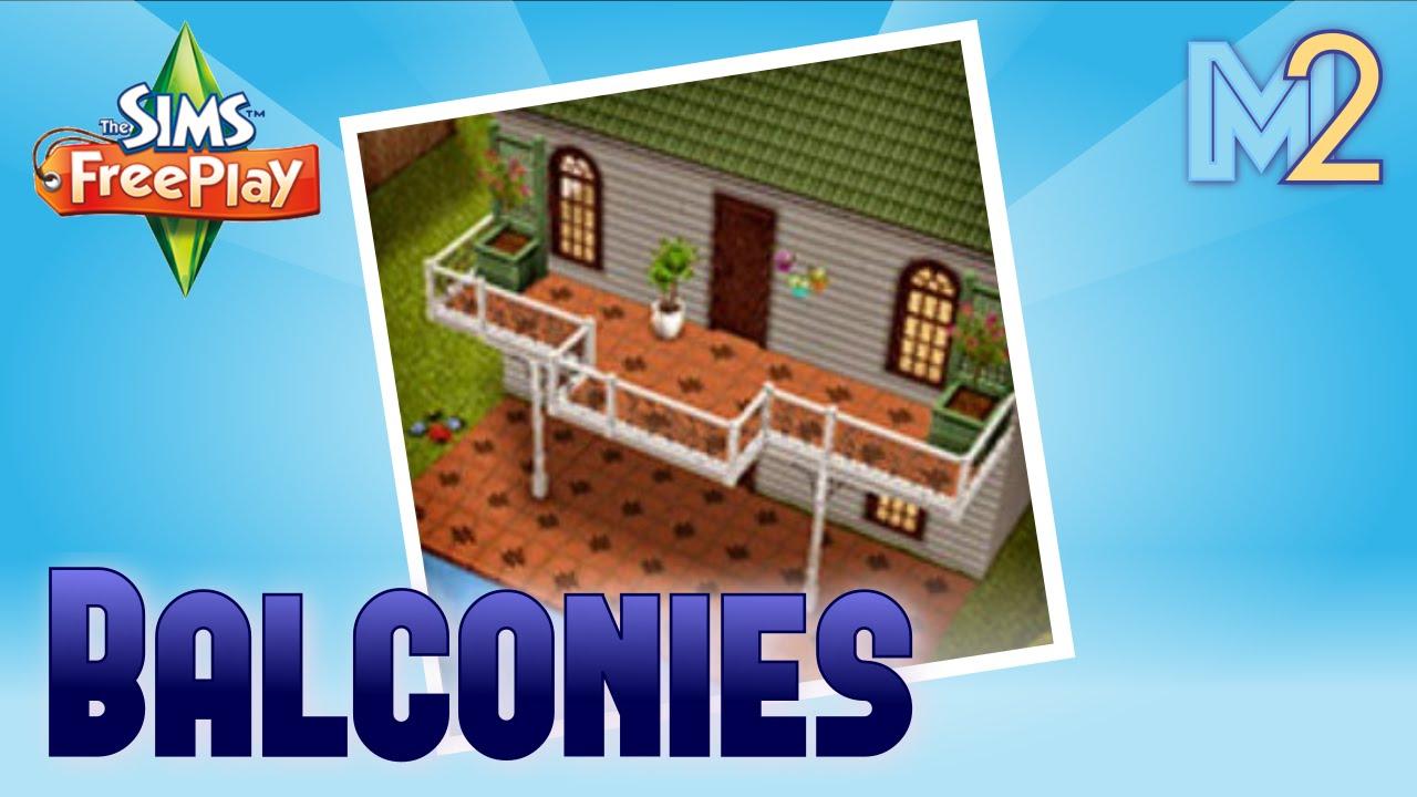 4Симс дома сделай сам слюни нюни на балконе симс