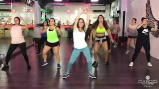 Sin Pijama - Becky G ft Natti Natasha by Zusel Lira Zumba Cardio Extremo Cancun