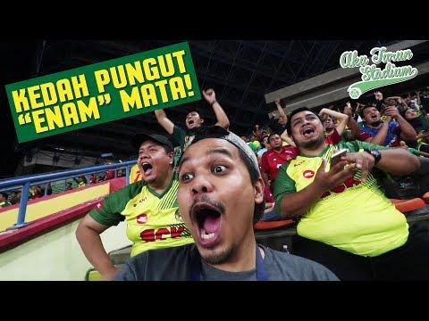 Kedah pungut 'ENAM' Mata! | Liga Super 2018 | #AkuTurunStadium