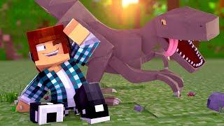 Minecraft: O PRIMEIRO DINOSSAURO !! ( Ark Parque #06 )
