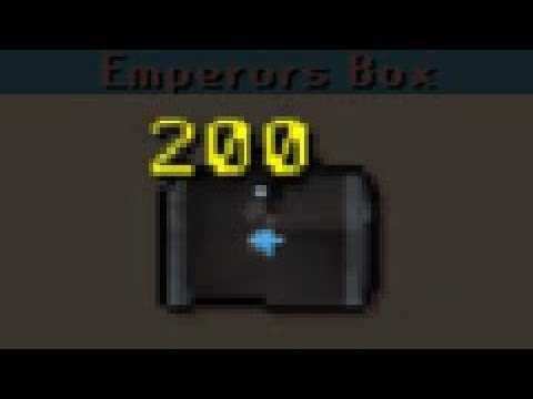 Loot from 200 Emperors Boxes | WE MADE BANK + HUGE GIVEAWAY | Dreamscape RSPS