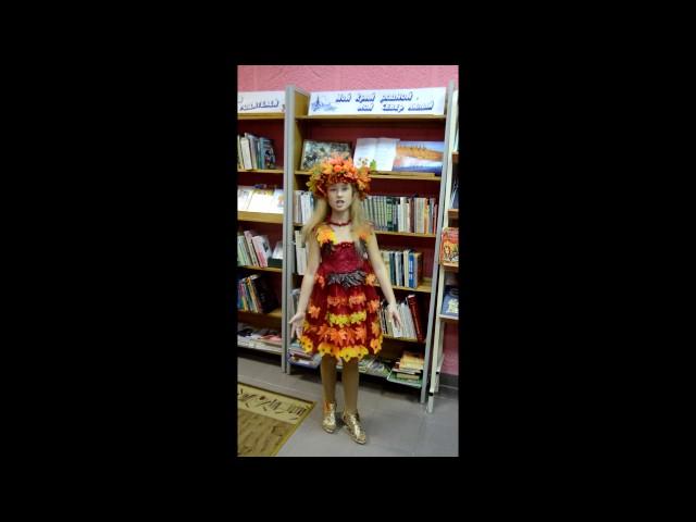 Изображение предпросмотра прочтения – СофияСумская читает произведение «Золотая осень» Б.Л.Пастернака