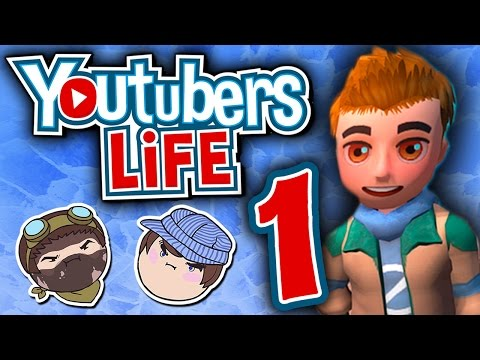 Youtubers Life: Just Like Real Life - PART 1 - Steam Train |
