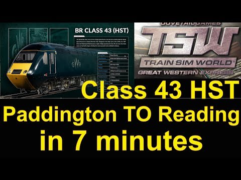 Train Sim World Great Western Express HST Time Lapse