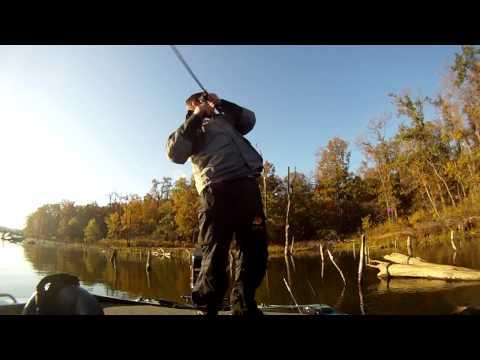 Bass Fishing in the Fall - Club Tournament at Big Hill Lake, Kansas