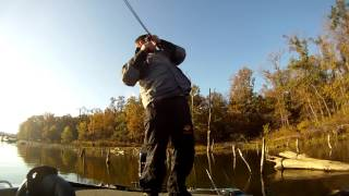 Bass Fishing in the Fall - Club Tournament at Big Hill Lake, Kansas
