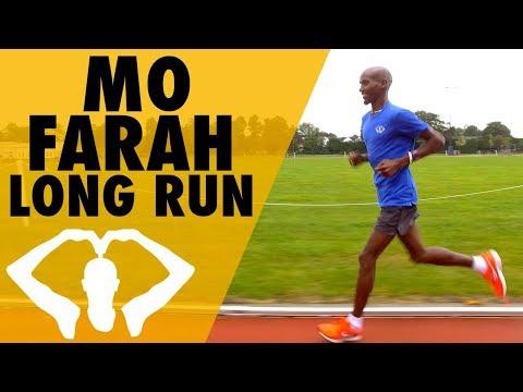 Long Run At My Old University! | Mo Farah