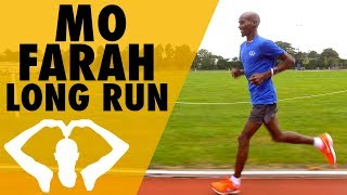 Long Run At My Old University! | Mo Farah