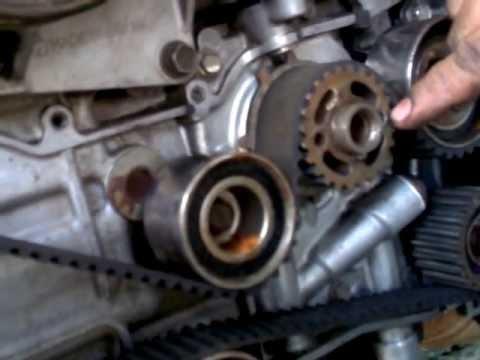 Subaru Legacy Alternator Diagram Instalacion Correa De Reparticion Subaru Legacy Youtube