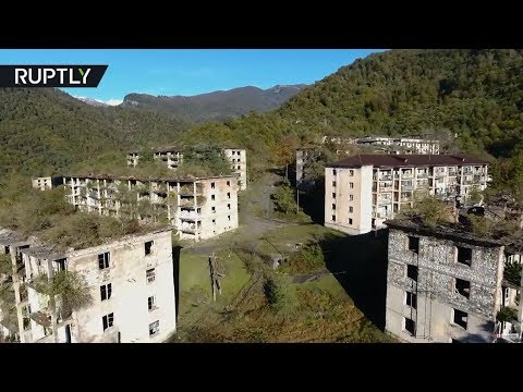 Eerie beauty: Abkhazia ghost town is being reclaimed by nature