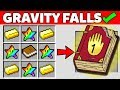 Minecraft Battle : HOW TO CRAFT GRAVITY FALLS DIARY Challenge in Minecraft Animation