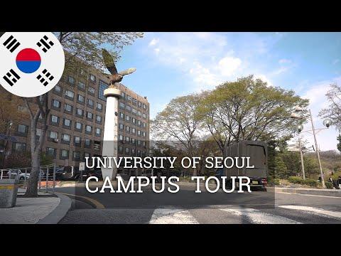 VLOG KOREA #4 International students visiting a Korean campus! (UNIVERSITY OF SEOUL 서울시립대학교)