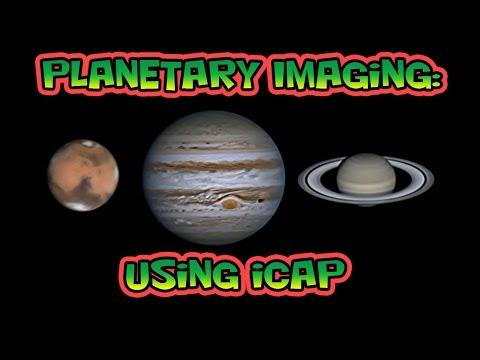 Planetary Imaging - Using iCap