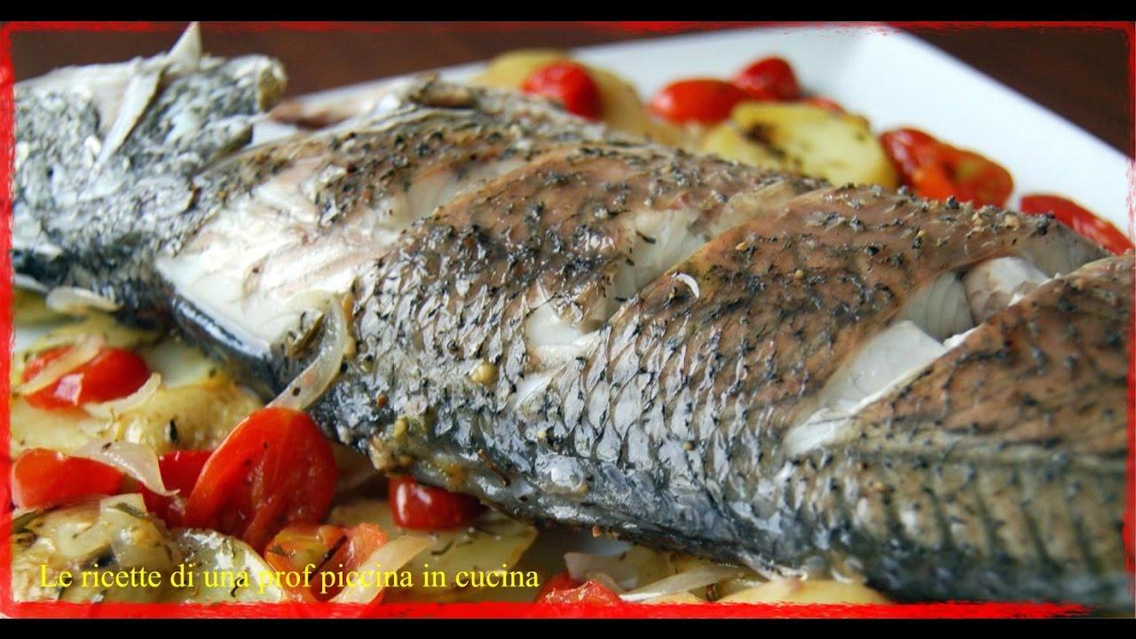 Oratabranzino Al Forno Con Olive Pomodorini E Capperi Youtube