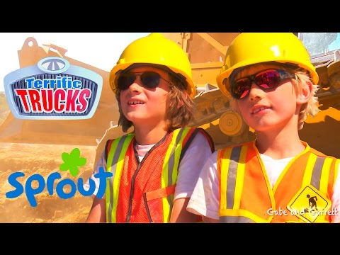 Truck Dreams - Construction Truck Videos For Kids!