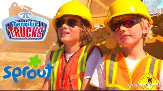 Truck Dreams   Construction Truck Videos For Kids!