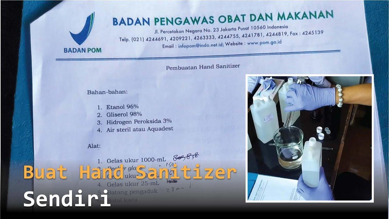 Hand Moist Creya Produk Binaan Farmasi Unpad Tersedia Dipasaran