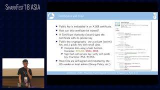 SF18ASIA - 19: SSL/TLS Decryption: Uncovering Secrets (Peter Wu)