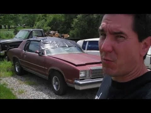 78 Cutlass Barn Find Clean Out Classic G Body Garage Youtube