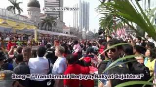 Malaysia Hari Kemerdekaan Ke-54 lagu tema 《Transformasi Berjaya Rakyat Sejahtera》+Lyrics