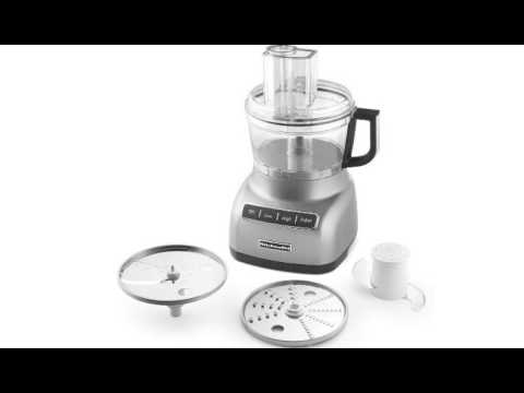 ada8cda77753 Cuisinart FP-8SV Elemental 8-Cup Food Processor - YouTube