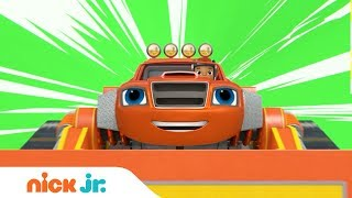 NEW Blaze and the Monster Machines Construction Episode Sneak Peek & Special Song | Nick Jr.