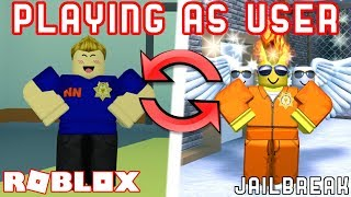 TROLLING as FAKE MyUsernamesThis! (Fake YouTuber Trolling) - Roblox Jailbreak