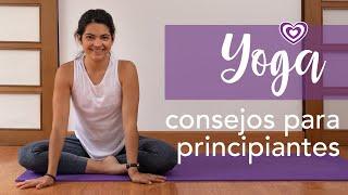 Yoga - Consejos para principiantes | Paloma & Caramelos