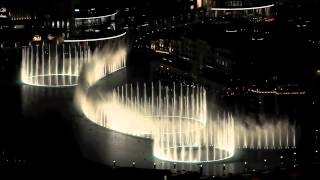 Dubai Fountain 2014 Thriller Michael Jackson