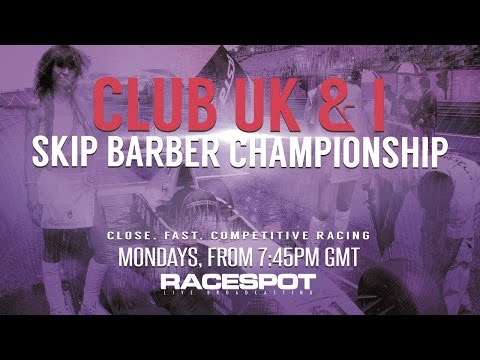 Club UK & Ireland Skip Barber Championship: Sonoma Raceway
