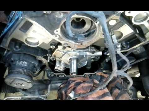 Ford triton oil pump - YouTube