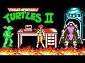 Teenage Mutant Ninja Turtles 2 Черепашки Ниндзя 2 прохождение NES Famicom Dendy mp3