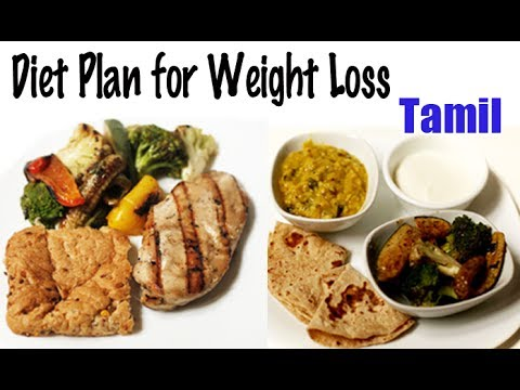 1900 Calories Diet for Weight Loss - Tamil - YouTube