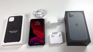 iPhone 11 Pro Max Unboxing: Midnight Green!