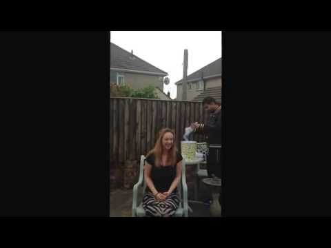 Ice Bucket Challenge - Michaela