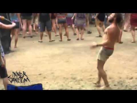 AWESOME HAPPY DANCING DUDE AT FESTIVAL - TECH METAL VERSION (INNER SANCTUM UK)