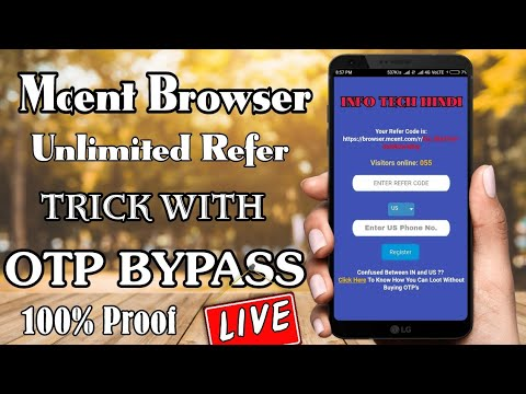 [live]-mcent-browser-refer-script-with-otp-bypass-unlimited-loot-trick-||-info-tech-hindi