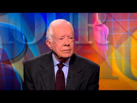 Jimmy Carter on Ukraine, Israel and addressing injustices faced by females around the world