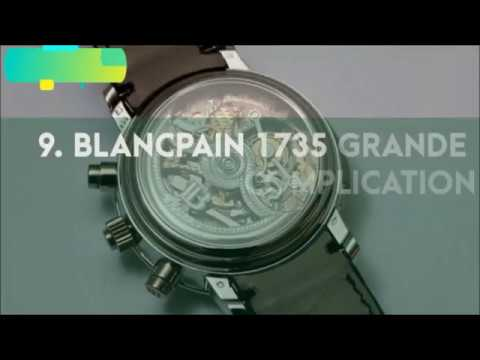 Top most expensive watches of world | best  famous popular luxury designer watches in the world