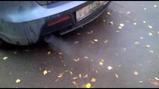 Mazda 3 MPS белый дым - сосет антифриз