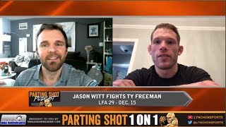 Jason Witt hopes a win in his LFA debut Friday leads to a UFC contract