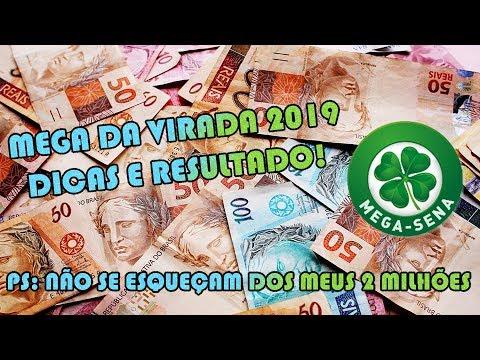 MEGA SENA DA VIRADA 2019 - DICAS E RESULTADO