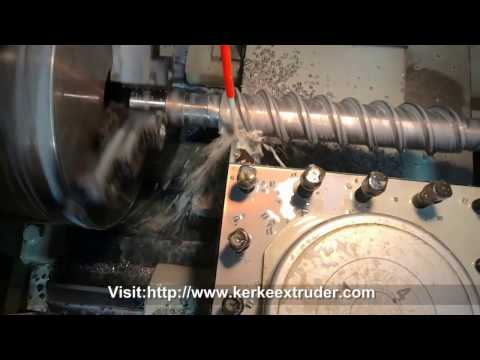 Screw Element Producing Process - Kerke Extrusion