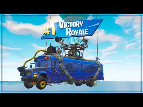 ניצחתי בזמן שהייתי עוד באוטובוס בפורטנייט!!! *הניצחון המהיר ביותר בהיסטוריה של פורטנייט!!*