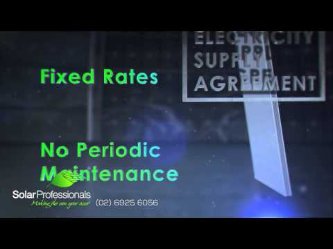 Solar Professionals TVC - Electricity Supply Agreement